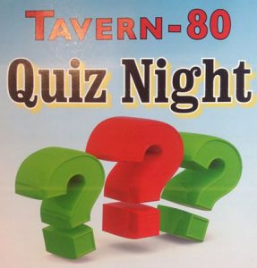 Tavern 80 - Quiz Night, West End Tavern Pub, Marden