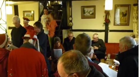 Old Kent Carollers at the West End Tavern (13th and 20th December at 8.30pm)