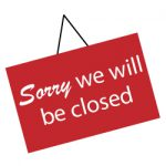 Sorry - we will be closed from 3pm on Thursday 28th October 2021 until 12 noon of Monday 1st November 2021.